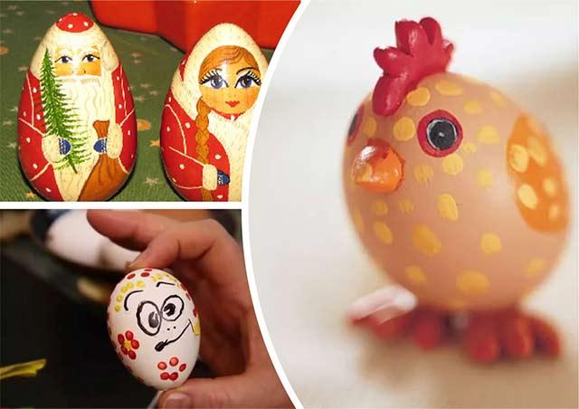 игрушки из яиц