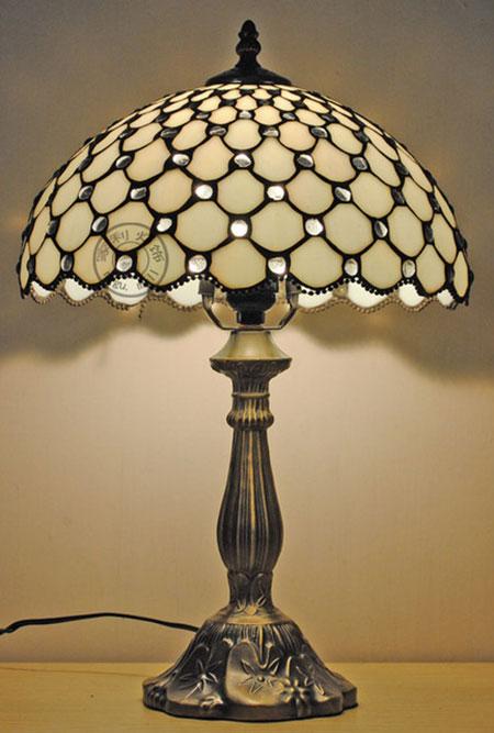 Тиффани-настольная-лампа