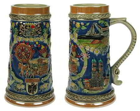 Кружка-сувенир из Мюнхена