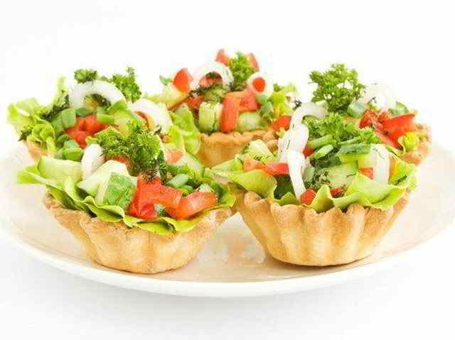 овощная начинка для тарталеток