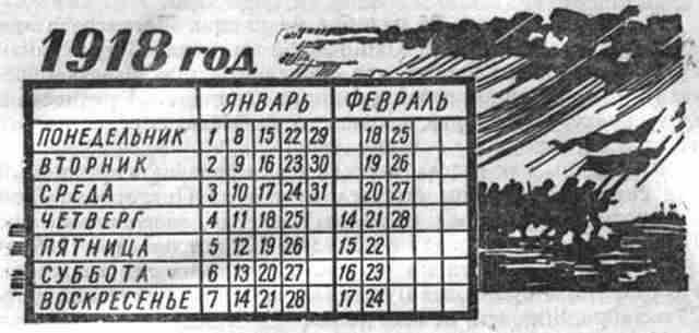 переход на Григорианский календарь