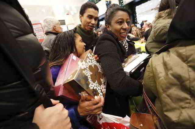 День подарков и сумасшедший шоппинг