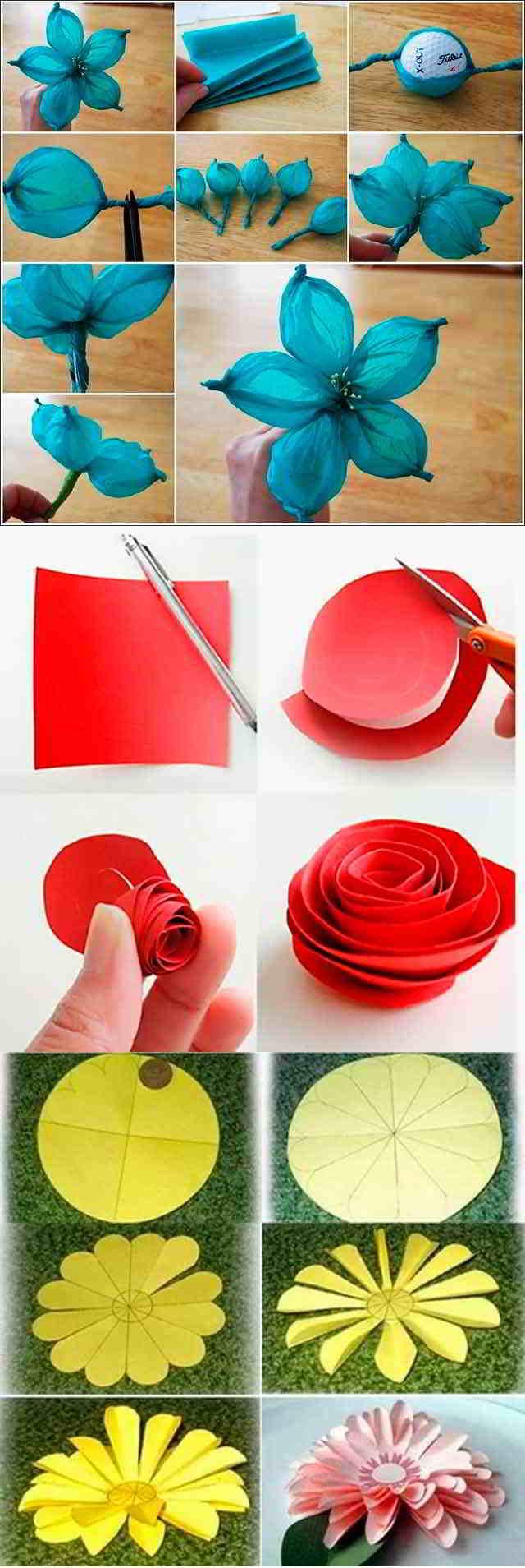 схемы создания цветов