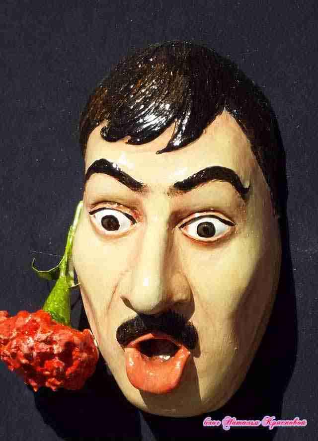 скульптинг лица из полимерной глины