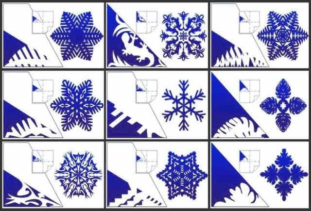 Красивые и легкие снежинки и как сделать