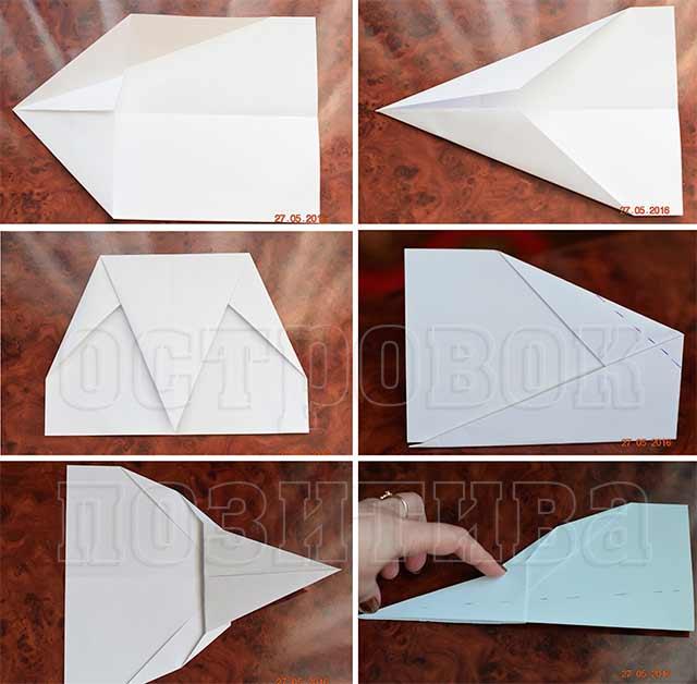 Как сделать из одной бумаги летающий вертолет