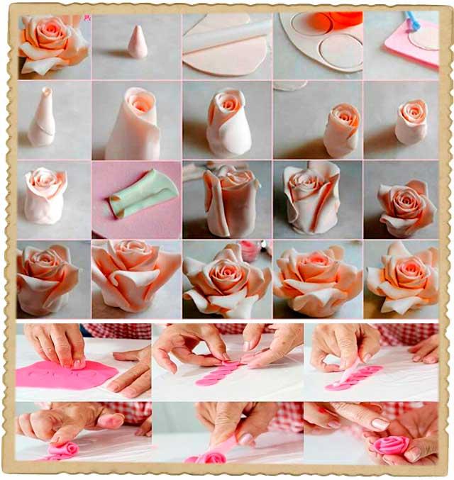 Как сделать мастику рецепт с фото пошагово 712