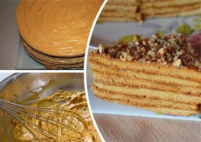 Классический рецепт торта медовый в домашних условиях 190