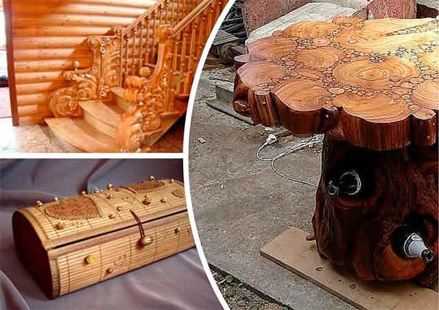 рукоделие из дерева