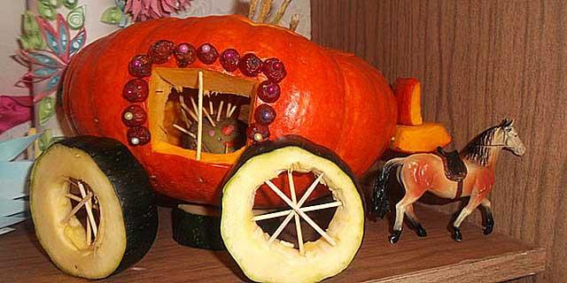 карета из тыквы