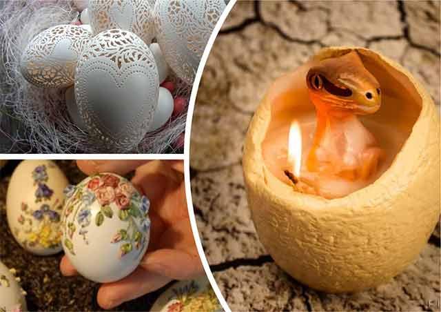яйца к новому году