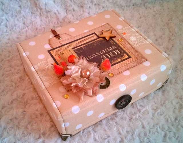 коробка учителю