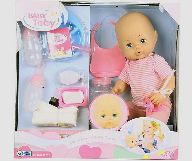 кукла пупс для девочки двух лет