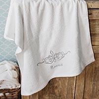 полотенце с именной вышивкой