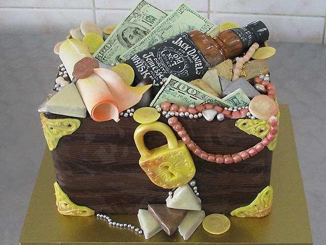 Идеи тортов для мужчин фото