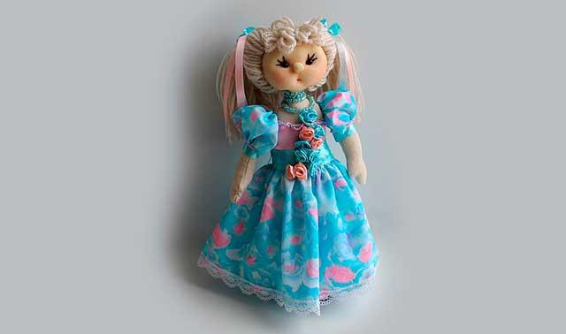 детская кукла ручной работы