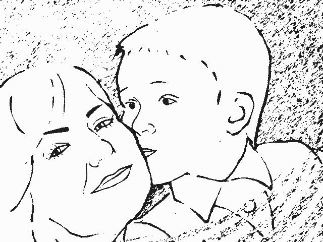 рисунок маме