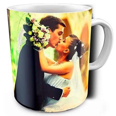 кружка со свадебным фото