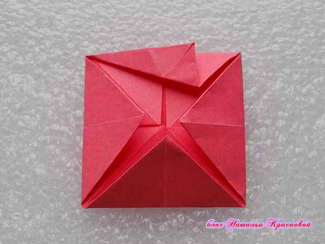 заворачивание оригами