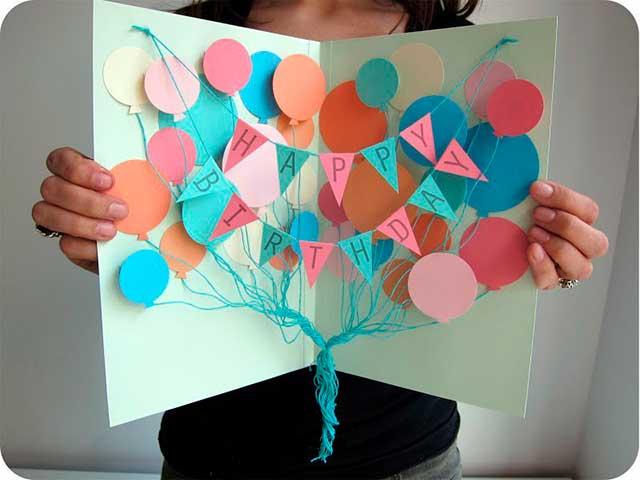 подарок девушке из бумаги