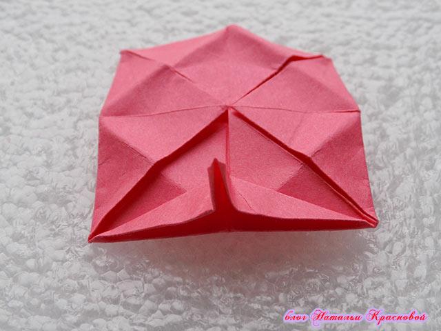 угол заготовки оригами