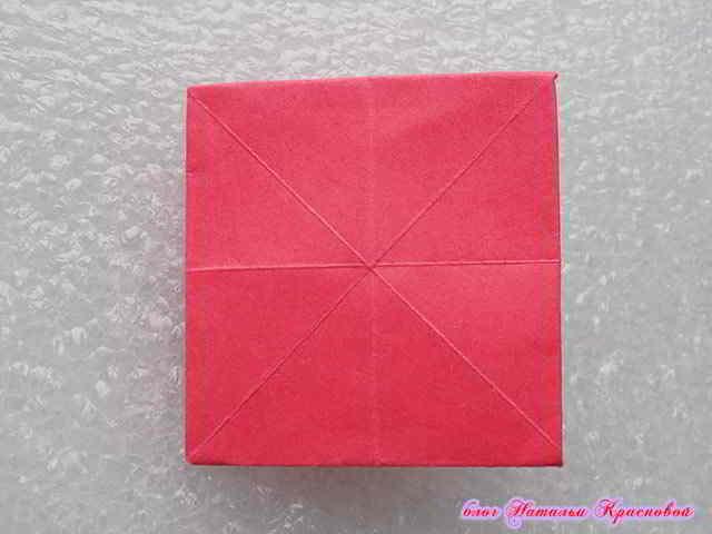 заготовка оригами