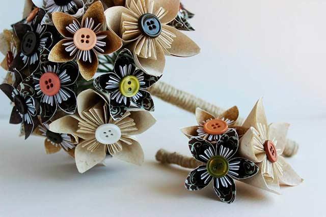 Цветы из бумаги своими руками. Схемы, шаблоны для изготовления простых бумажных цветов