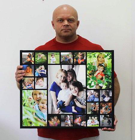 Портрет по фото на заказ. Vipcollag.Ru
