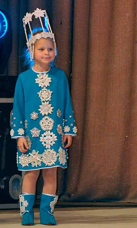 платье из макарон