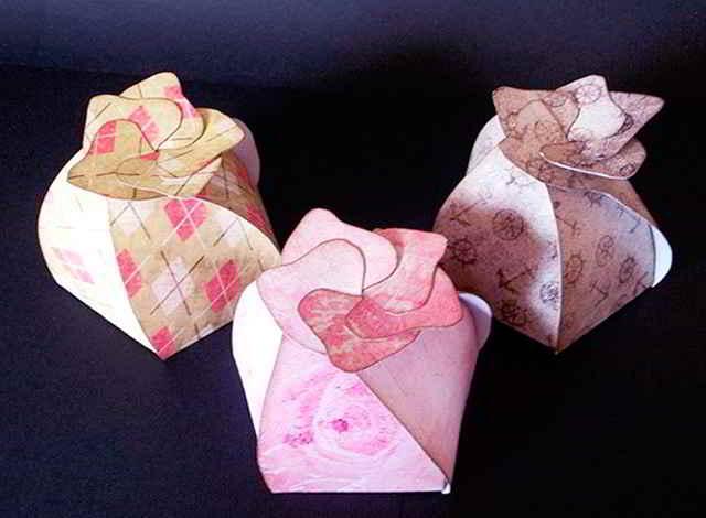 Коробка «Бутон цветка»
