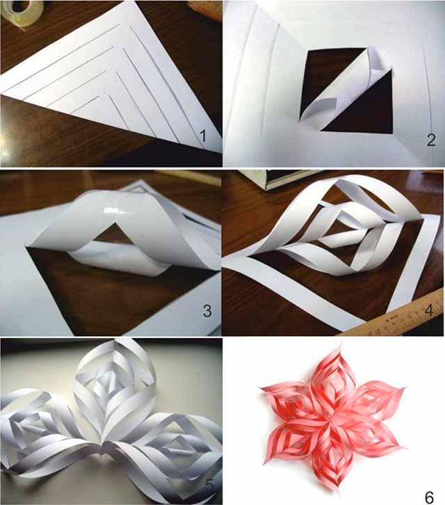 Как сделать объемную из бумаги поэтапно фото 369