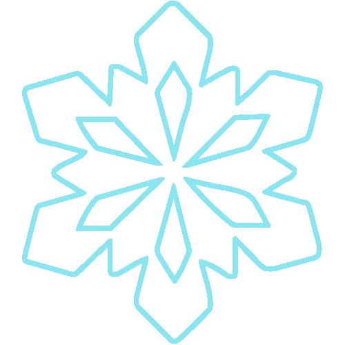 маленькая снежинка