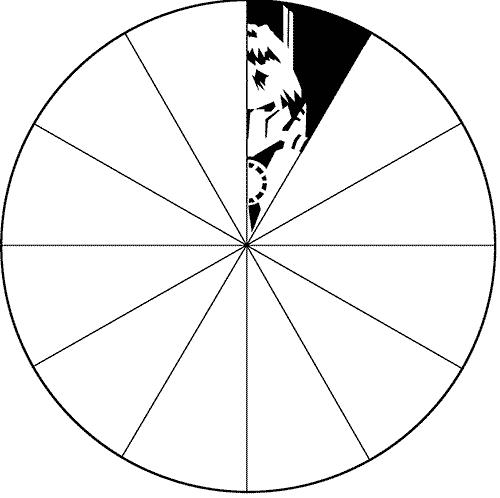 объемная снежинка формата а4