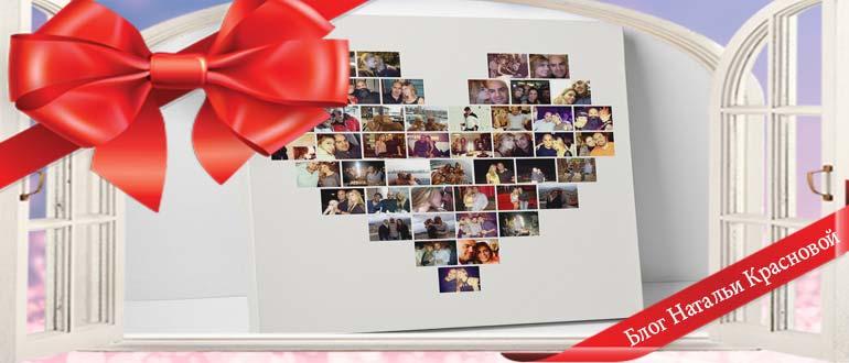 Что можно сделать в подарок из фотографий