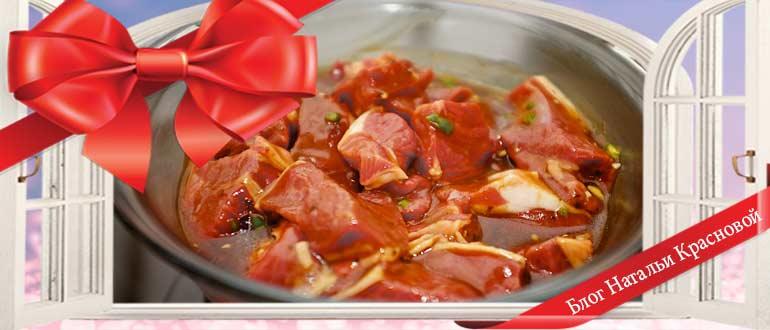 шашлык из свинины самый вкусный маринад чтобы мясо было мягким