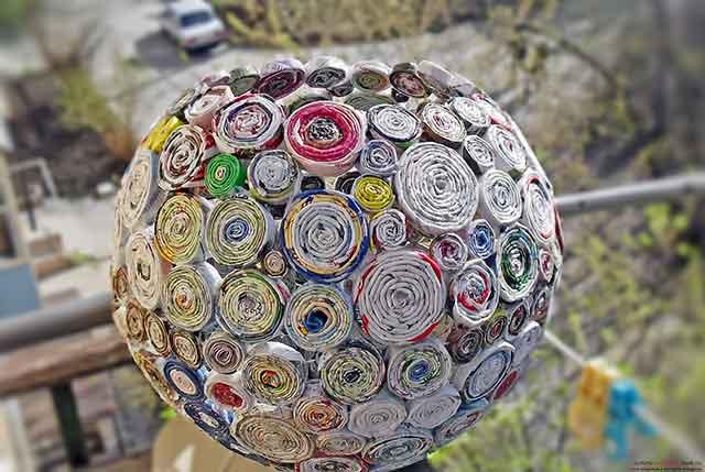 корзина-шар