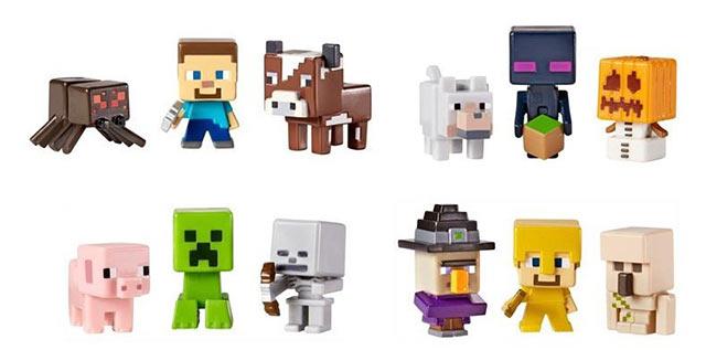 Фигурки Minecraft