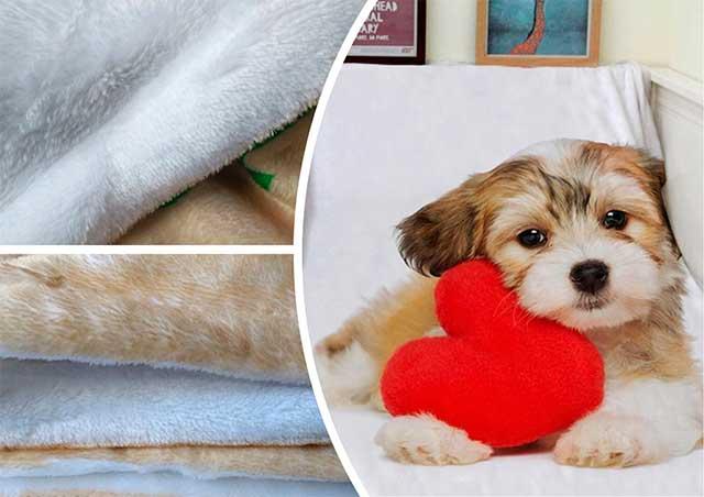 одеяло с принтом щенка