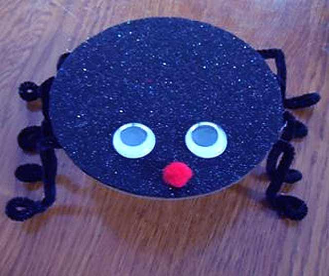 паук из диска