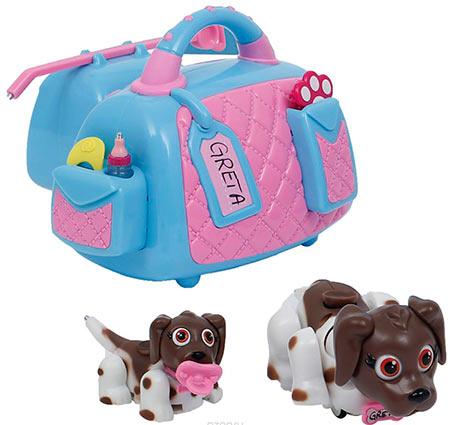 переноска с собакми - игрушка