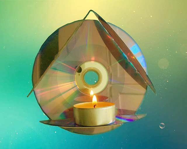 17 поделок из дисков своими руками для детей в детский сад
