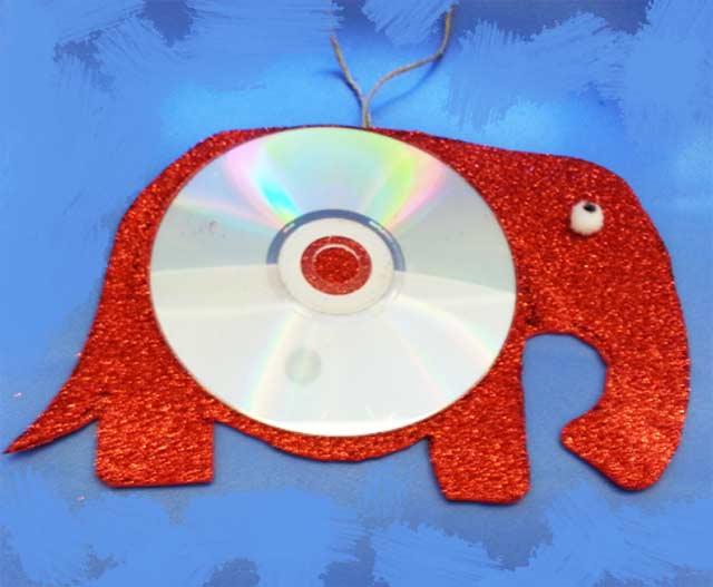 слон из диска