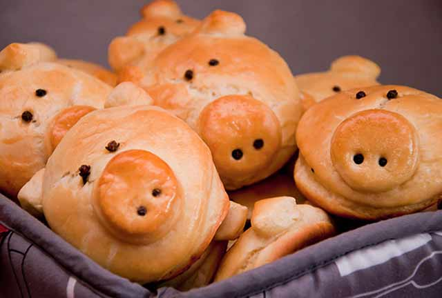печенье в форме свиньи