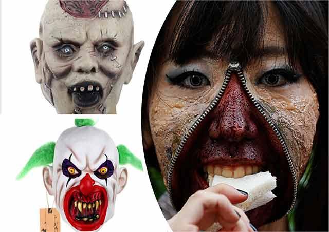 хэллоуин маски