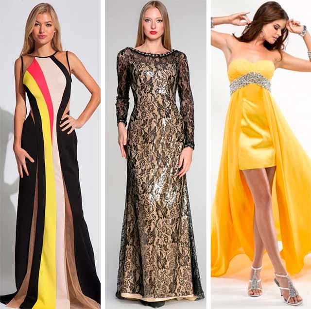пестрые платья