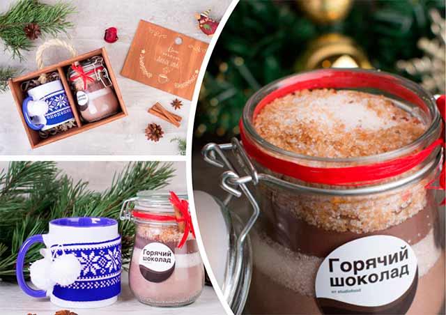набор для горячего шоколада