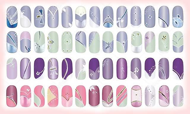 10 легких рисунков на ногтях для начинающих