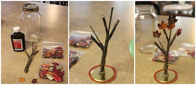поделка дерево