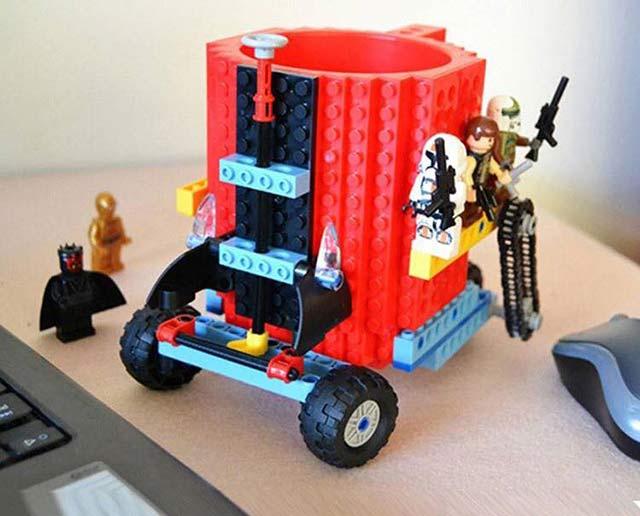 кружка-конструктор Лего
