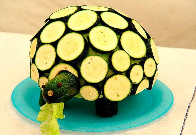 поделка из овощей